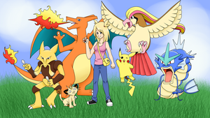 PokeMMO - Korishiva and her team by korishiva