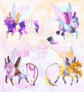 beetlecorns // december set one [closed] by glamacabre