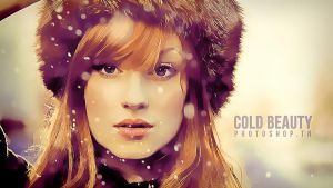 Cold Beauty by MixMyPhotoshop