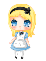 Alice by lufflii