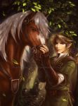 Link and Epona by TixieLix