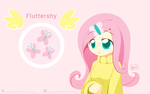 Weekly art#15 Fluttershy by HowXu