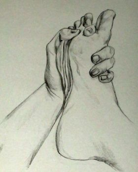 Hands and Foot 2 by StephanyShunpike