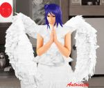 Praying angel by petiteantoinette