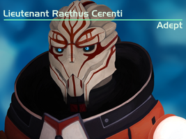 Lieutenant Raethus Cerenti by quantumparadigm