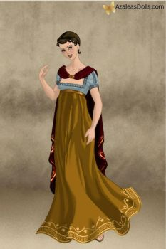 Snow White - Roman Lady by IndyGirl89