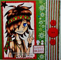 Peace, Love, And Good Tidings by AerynKelly13