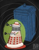 The Fifth Doctor Dalek by MeghanMurphy