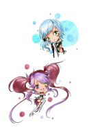 AT: Chibi Colorfull Bubbles by Sweetillita