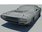 Charger concept Wire frame2 by Cooper144
