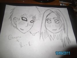 Gaara and Ri Ri by MaybeNewAccountComin