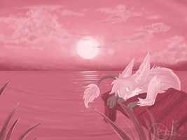 Everything's pink by Version-L