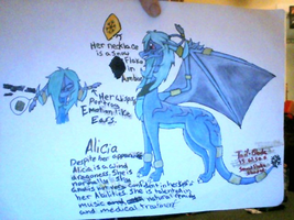 Alicia ref. by FrostTheDragoness