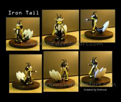 Iron Tail figure - Commission by The-Replicant