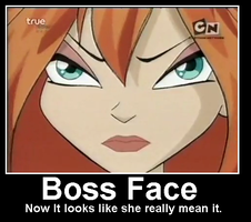 Boss Face by winxchara