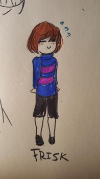 Frisk (The human) by cuterenachan123