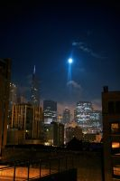 moon over chicago - color by maltedhens