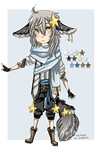 Auction [CLOSED] : Starry Night by Solsongs