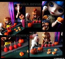 .:Halloween doll party:. by SaMtRoNiKa