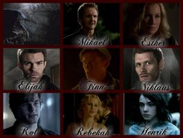 The Vampire Diaries: The Mikaelson Family by GarciaPenelope