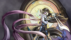 Octavia, the Grand Duelist by Zedrin