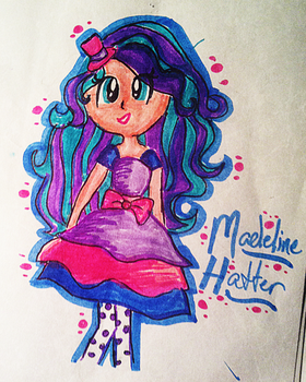 Madeline Hatter by TheLivingDictionary