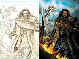 Thorin Oakenshield by WiL-Woods