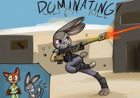 Judy Pownage by Abrr2000