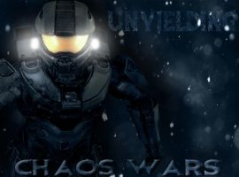 Chaos Wars - Master Chief (Gmod+Poster Style) by Herioc107