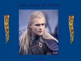 ANOTHER Legolas Wallpaper by cyberelf2029