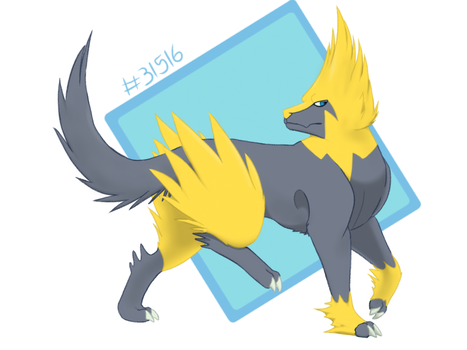 Shiny Manectric by cookie2202