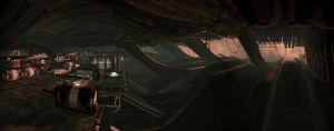 Mass Effect 2 pano 38 by MichaWha