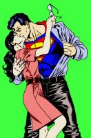 Superman and Lois Lane by MojoBrown
