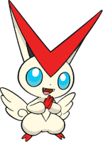 Shiny Victini : DW Art by Muums