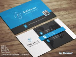 Creative Business Card 17 by khaledzz9