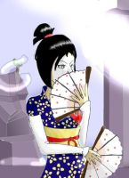 Lyoko Geisha Yumi Colored by endlessthoughtbubble