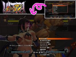 USF4 Training Pause Menu MOD by zomoron
