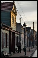 Streets of Zgierz city by Mateusz78