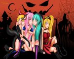 Happy Halloween Vocaloid by NeroTheWolf