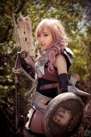 FFXIII-2 - Lightning 3 by LiquidCocaine-Photos