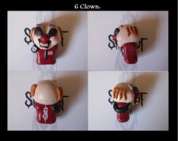 clown chibi slipknot by slipkrich