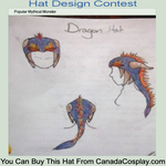 Contest Entry: Dragon Hat by UnheardPoetic