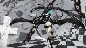 Black Rock Shooter the Animate ver. by CrossAzoith