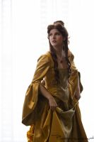 Belle from Beauty and the Beast at Ikkicon by Photopersuasion