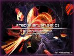 Fractal Brush Set 01 by Qzma by Qzma
