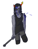 Zombie Equius by shaynaclaw