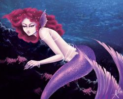 Mermaid Commission 1 by fearn
