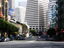 San Francisco Street by Heypolin