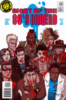 COLORS Night of the 80's Undead 2 cover by jasinmartin