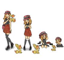 Pokemon X and Y Age Regression by Banshee32